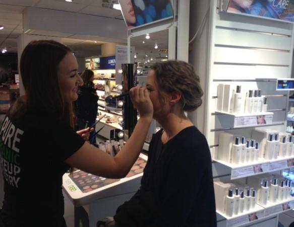 makeup lisaanna och Beatrice (2)