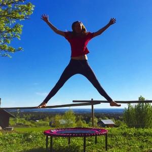 Denna träningsform är den bästa för lymfan <3! Ta det bara lugnt i början. Läs här: http://turkos.se/2015/06/24/studsa-mera-vi-alskar-bellicon/