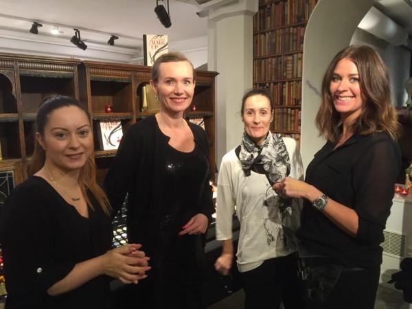 Vilken underbar kväll med dessa underbara Makeup och Hairstylister Sini Siambalis, Catherine Dichy och Carolina Ek