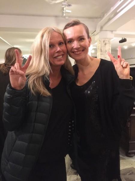 Mötte också Metha makeup artist på tv, teater och film, sa att hon inte blivit så imponerad av en Foundation på 30 år! Nvey Eco Crème de luxe <3