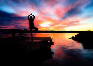 Lugnvik bryggan yoga