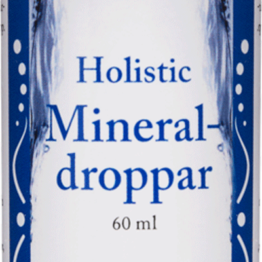 Holistic Mineraldroppar 60ml
