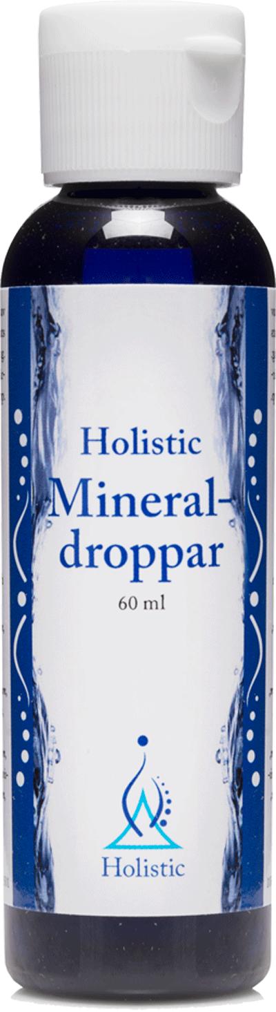 Holistic Mineraldroppar 60ml