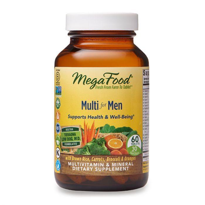 vMegaFood Multi for Men, 60tab