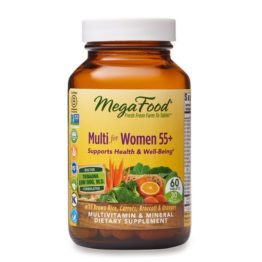 MegaFood Multi for Women55+, 60tab