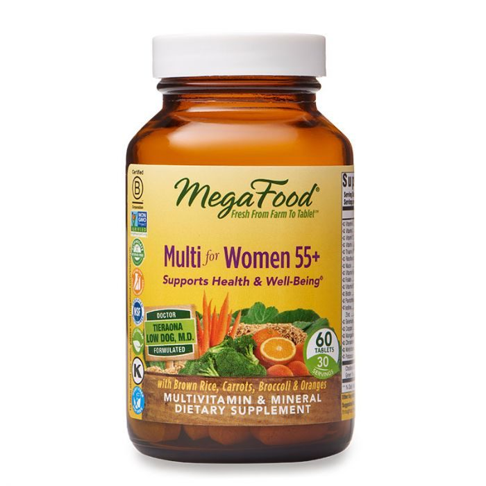 MegaFood Multi for Women55+, 60tab