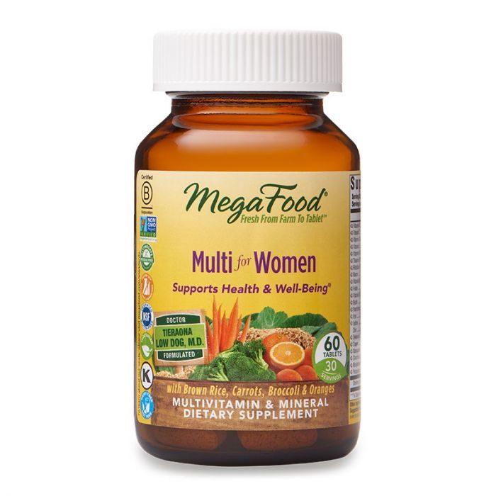 MegaFood Multi for Women, 60tab