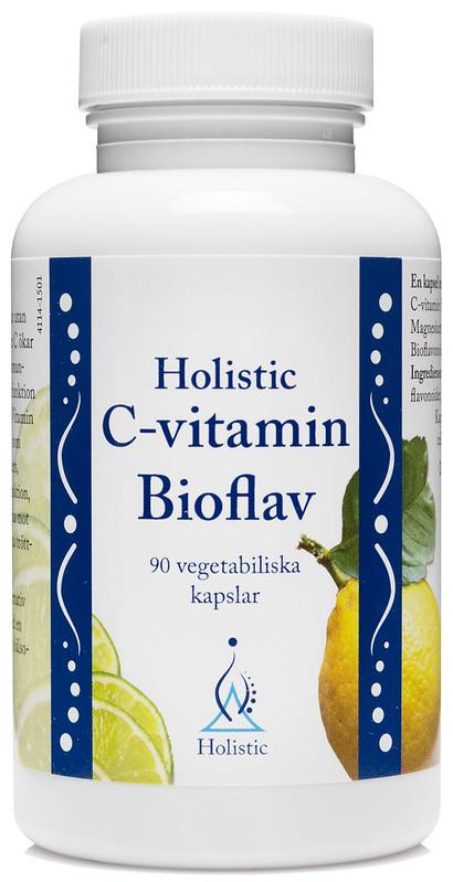 Holistic C-Vitamin Bioflav 90kaps