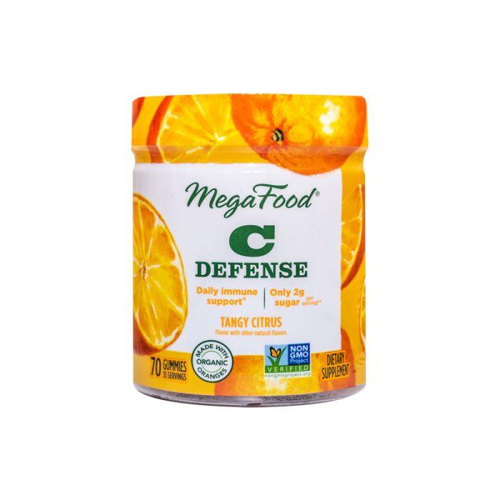 MegaFood C Defense Tangy Citrus 70gummies
