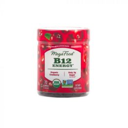 Megafood B12 Energy Cranberry Gummies 90tab