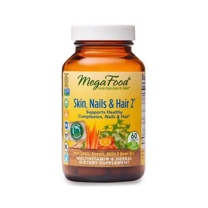 MegaFood Skin, Nails & Hair 2 60tab