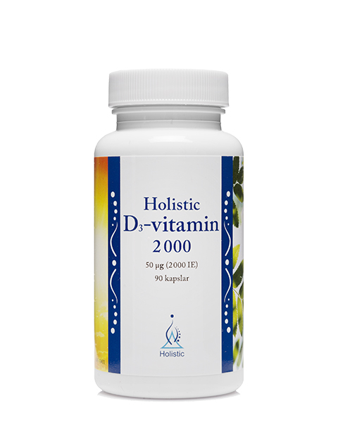 Holistic D3-Vitamin 2000IE 90kap